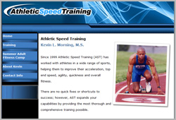 Athletic Speed Training - www.athleticspeedtraining.com