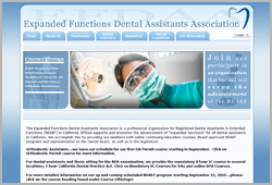 Dental Assistants Association - www.efdaaservices.org