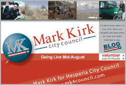 Mark Kirk, Hesperia City Council