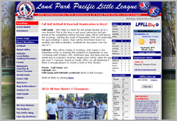 Land Park Pacific Little League - www.lppll.com