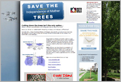 Save the Mather Community Trees - www.savethemathertrees.com
