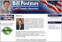 Bill Postmus, Riverside County Assessor