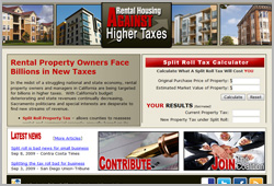 Rental Housing Against Higher Taxes